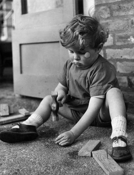 Concentration Photograph - Serious Work by A R Tanner