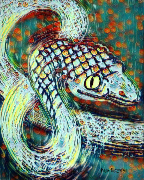 Digital Art - Serpent by Pennie McCracken