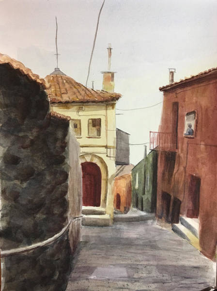 Painting - Sersale Street by Mimi Boothby