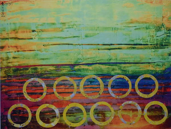 Avondet Wall Art - Digital Art - Set Suns I by Natalie Avondet