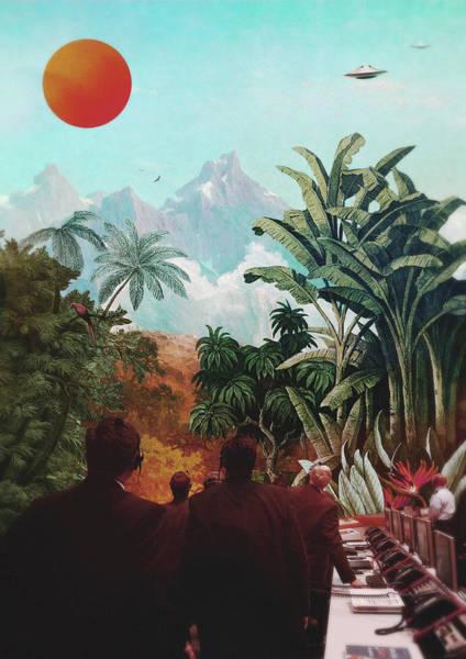Wall Art - Digital Art - S.e.t.i. by Fran Rodriguez