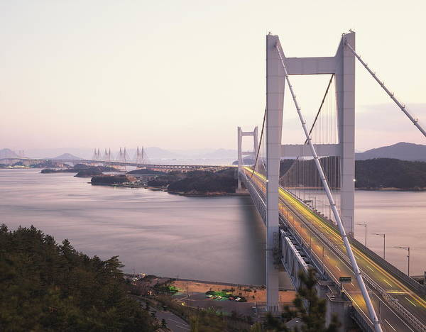 Okayama Prefecture Photograph - Seto Ohashi Bridge,  Kurashiki by Gyro Photography/amanaimagesrf
