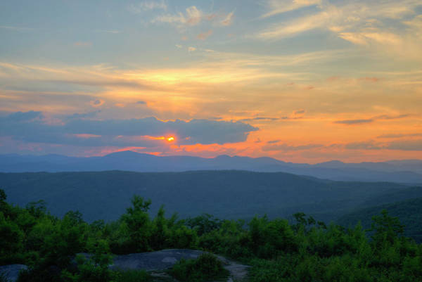 Photograph - Setting Sun by David Waldrop