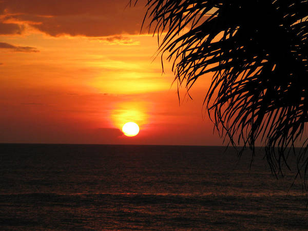 Wall Art - Photograph - Setting Sun Over The Indian Ocean by David Hosking