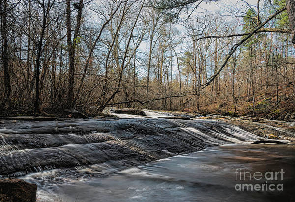 Hillside Wall Art - Digital Art - Settledown Creek Falls by Elijah Knight