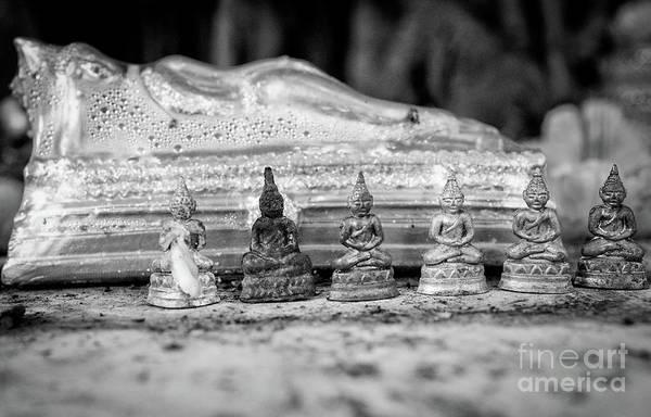Wall Art - Photograph - Seven Buddhas by Dean Harte