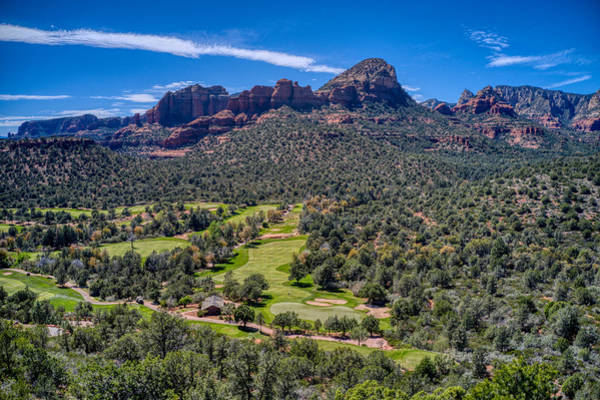 Photograph - Seven Canyons Sedona Golf Course by Ants Drone Photography