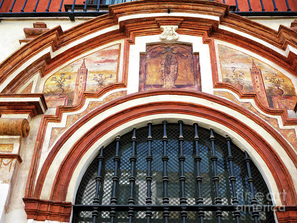 Photograph - Sevilla Building Art by John Rizzuto