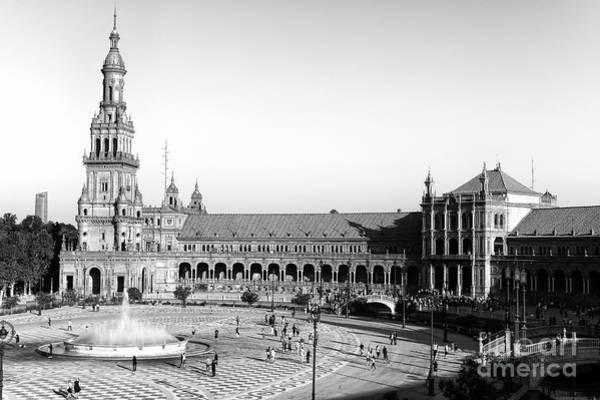 Photograph - Seville Plaza De Espana by John Rizzuto