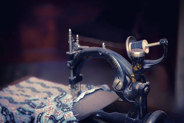 Wall Art - Photograph - Sewing In Color by Marnie Patchett