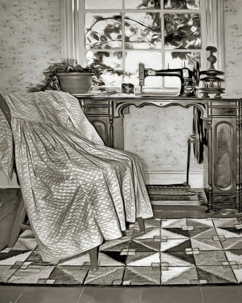 Wall Art - Photograph - Sewing by Nikolyn McDonald