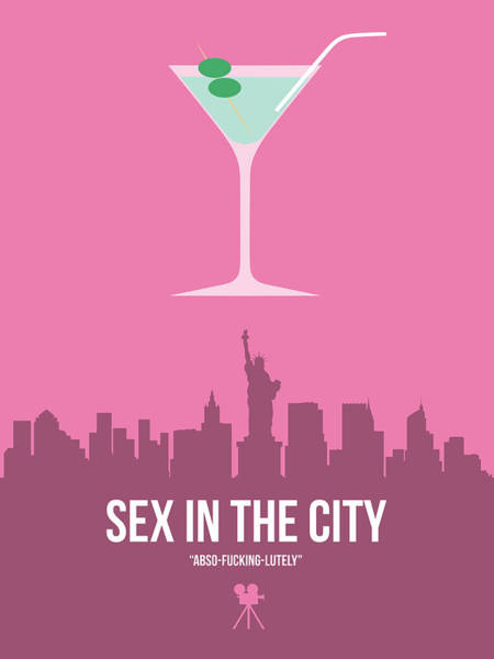 Wall Art - Digital Art - Sex And The City by Naxart Studio