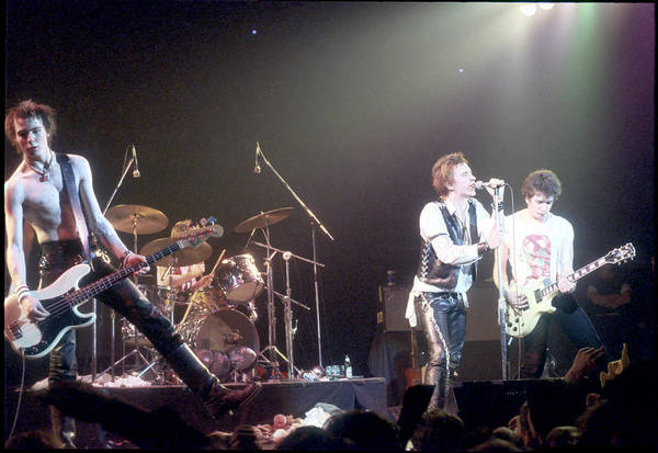 John Paul Jones Photograph - Sex Pistols Last Concert by Michael Ochs Archives