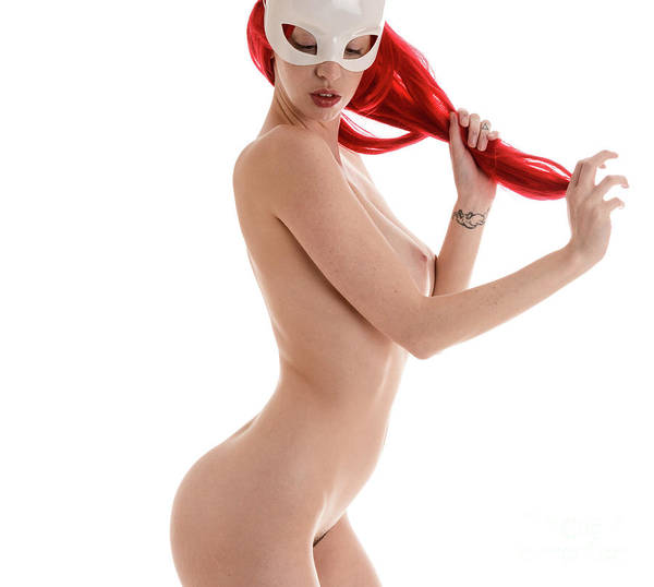 Cosplay Photograph - Sexy Masked Redhead by Jt PhotoDesign