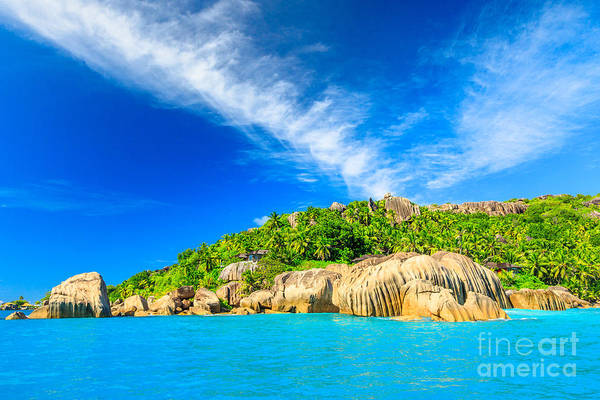 Photograph - Seychelles Felicite Island by Benny Marty