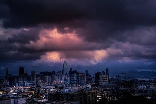 Photograph - Sf Under Attack by Bill Posner