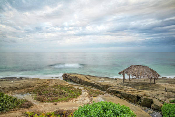 Wall Art - Photograph - Shack And Sea In March by Joseph S Giacalone