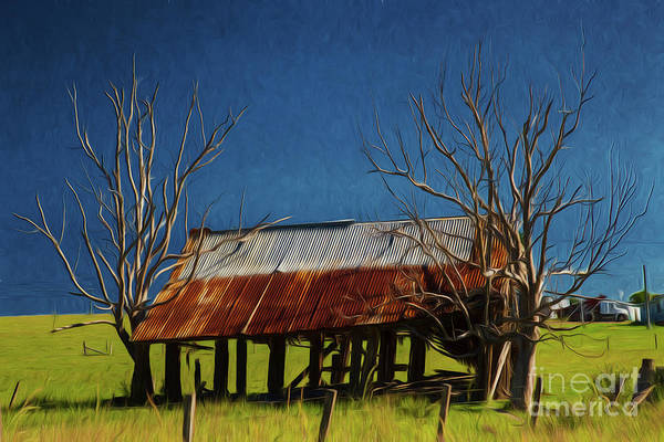 Wall Art - Photograph - Shack In Rural Landscape by Sheila Smart Fine Art Photography