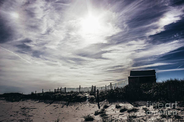 Wall Art - Photograph - Shack Silhouette On Dramatic Sky by Colleen Kammerer
