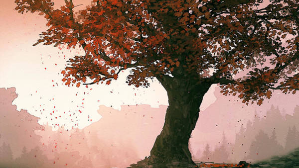 Painting - Shades Of Autumn by Andrea Mazzocchetti