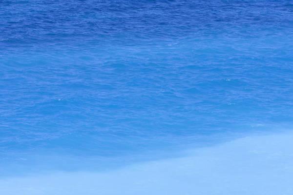 Photograph - Shades Of Blue Ocean, Rhodos by Werner Van Steen