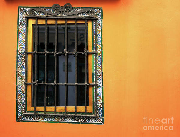 Photograph - Shades Of Orange In Seville by John Rizzuto