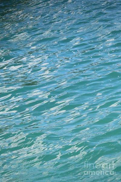Photograph - Shades Of Tropical Blue Water by Carol Groenen