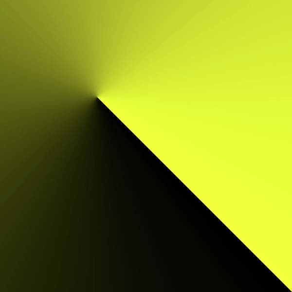 Digital Art - Shades Of Yellow In Rotational Gradient by Bill Swartwout Photography
