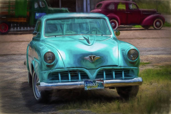 Digital Art - Shades Of Yesteryear by Barry Jones