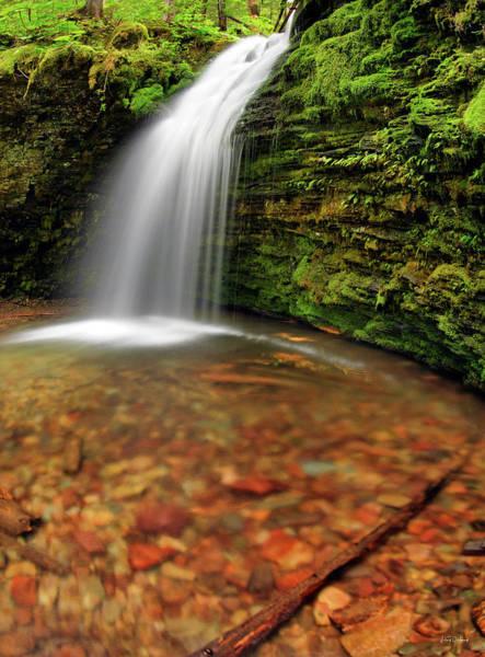 Photograph - Shadow Falls by Leland D Howard