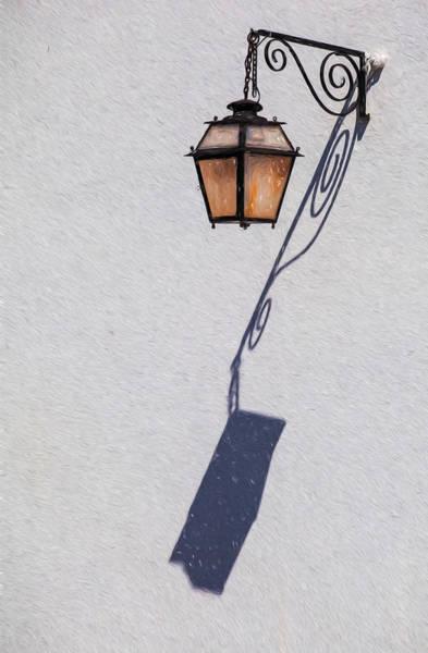 Shadow Lamp Art Print