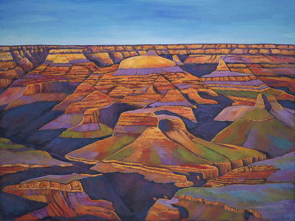 Southwest Wall Art - Painting - Shadows And Breezes by Johnathan Harris