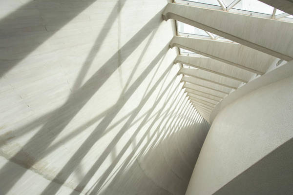 Tenerife Photograph - Shadows On Modern Wall by Cultura Rm Exclusive/ubach/de La Riva
