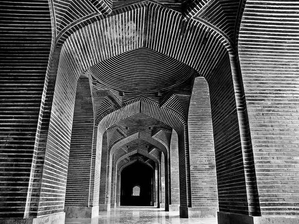 Photograph - Shah Jahan Mosque by Muhammad Owais Khan