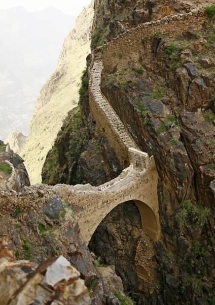 Photograph - Shahara Bridge In Yemen - by Eric Lafforgue