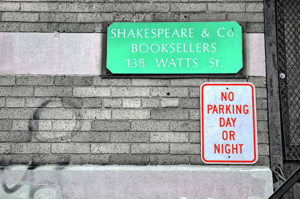 Wall Art - Photograph - Shakespeare And Co. by Paul Coco
