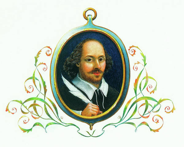 Painting - Shakespeare by Lynn Bywaters