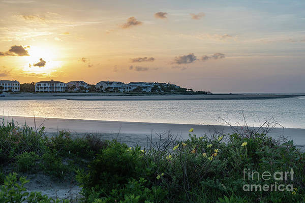 Photograph - Shallow Water - Breach Inlet by Dale Powell