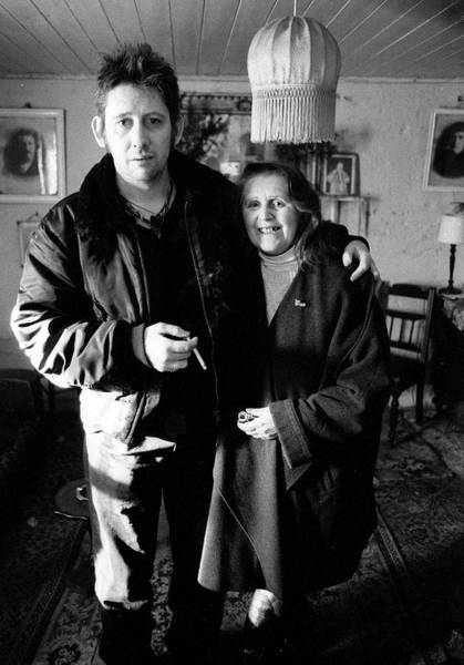 Family Photograph - Shane Macgowan Singer Of The Pogues by Martyn Goodacre