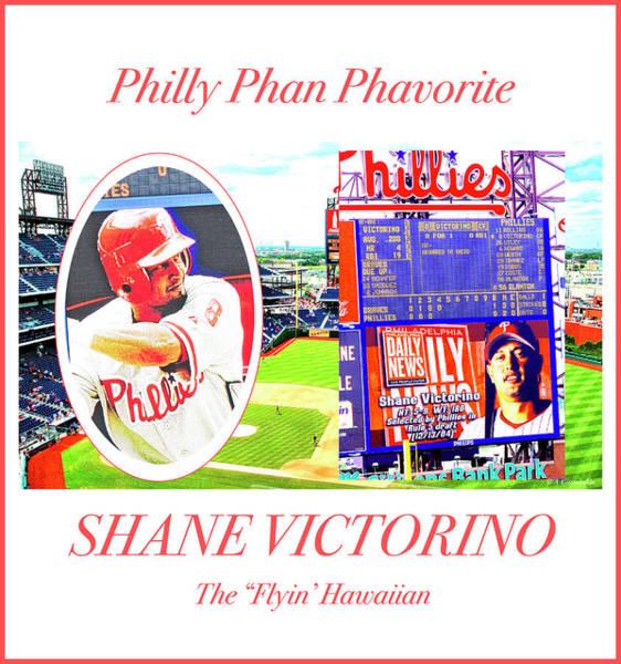 Shane Victorino, Philly Phan Phavorite Art Print