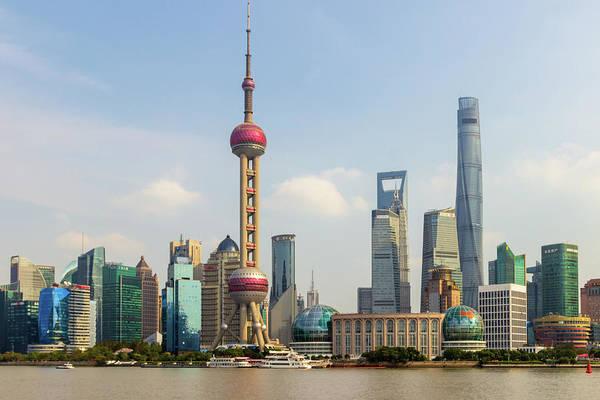 Photograph - Shanghai City View by Aashish Vaidya