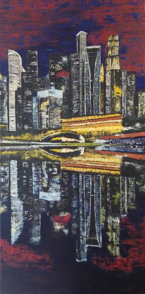 Wall Art - Painting - Shanghai Dream by Yevhen Kliuchinskii