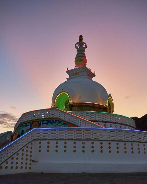 Shanti Stupa Art Print