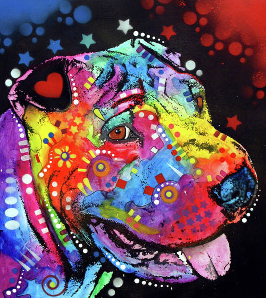 Wall Art - Painting - Shar Pei by Dean Russo Art