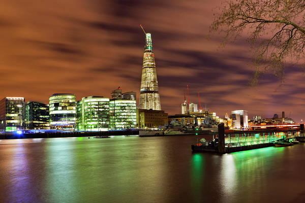 Photograph - Shard London Bridge by Sebastian Wasek