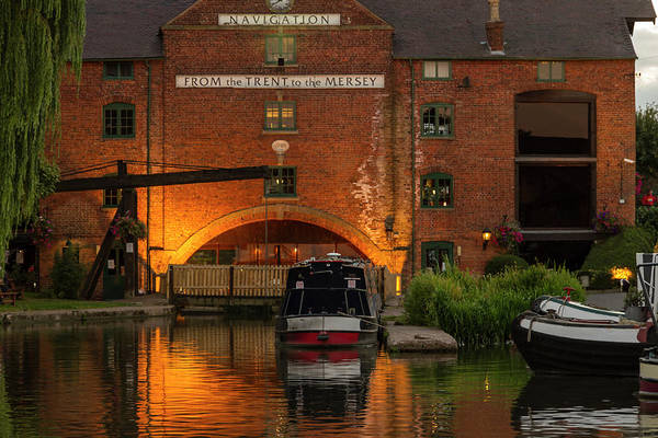 Photograph - Shardlow Wharf by John Dakin