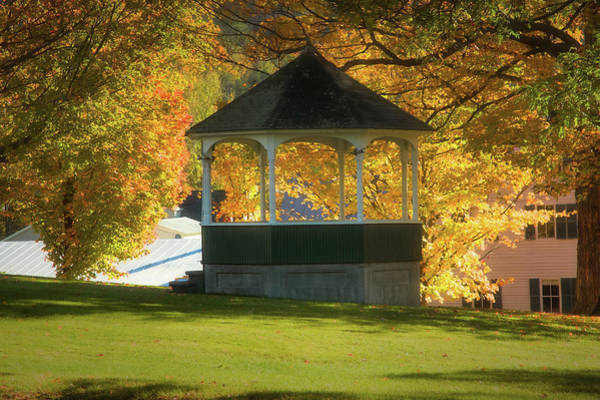 Photograph - Sharon Vermont Bandstand by Jeff Folger
