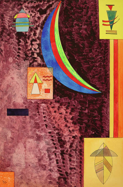 Wall Art - Painting - Sharp, 1928 by Wassily Kandinsky
