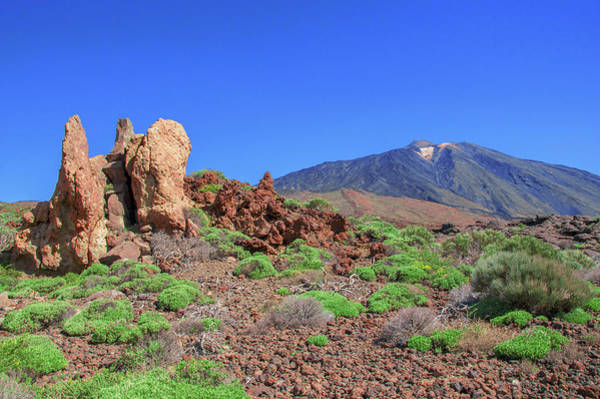 Photograph - Sharp-edged Rocks In Front Of Mount Teide by Sun Travels