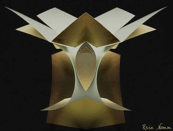Sculpture - Sharp Edged Torso by Rein Nomm